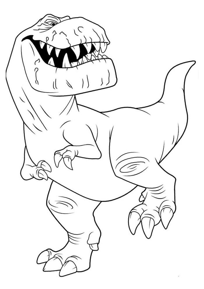 dinossauro para colorir 48