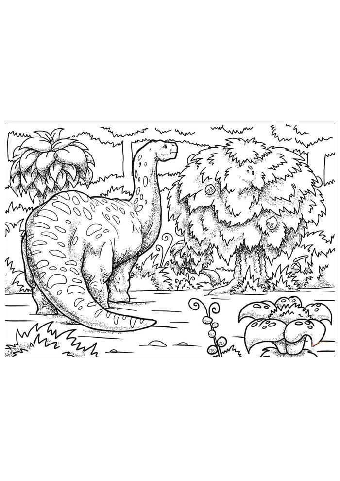 dinossauro para colorir 49