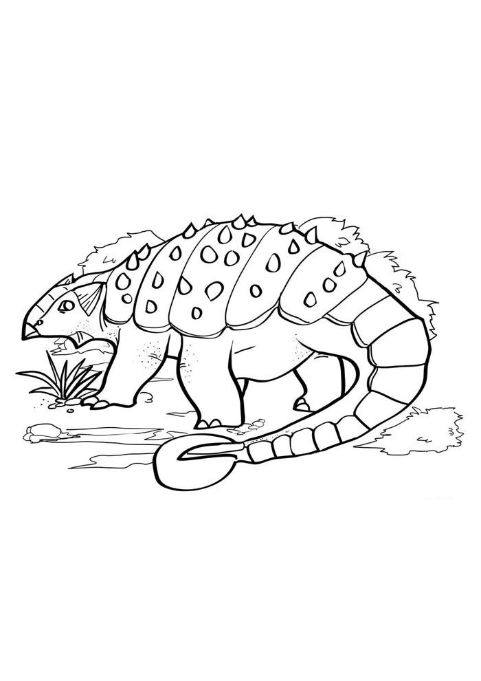 dinossauro para colorir 53