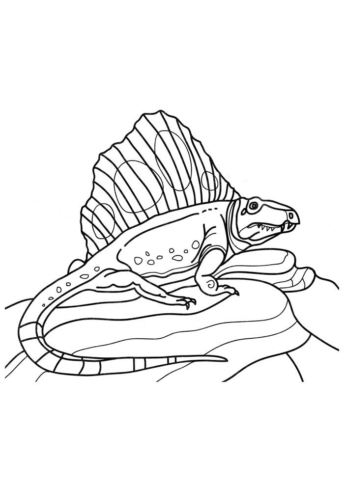 dinossauro para colorir 55