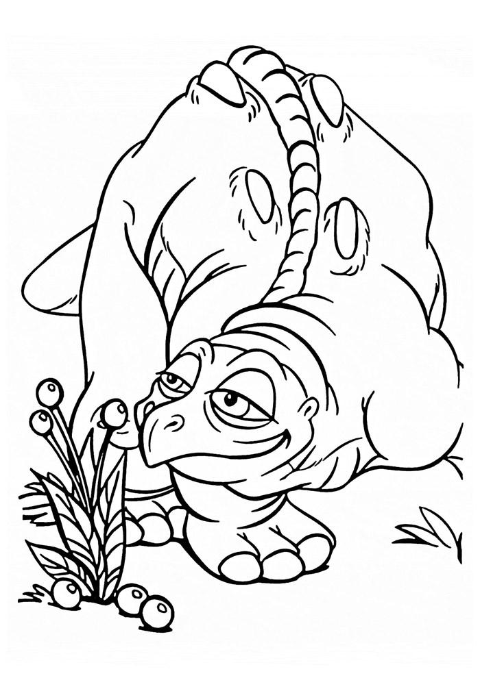 dinossauro para colorir 6