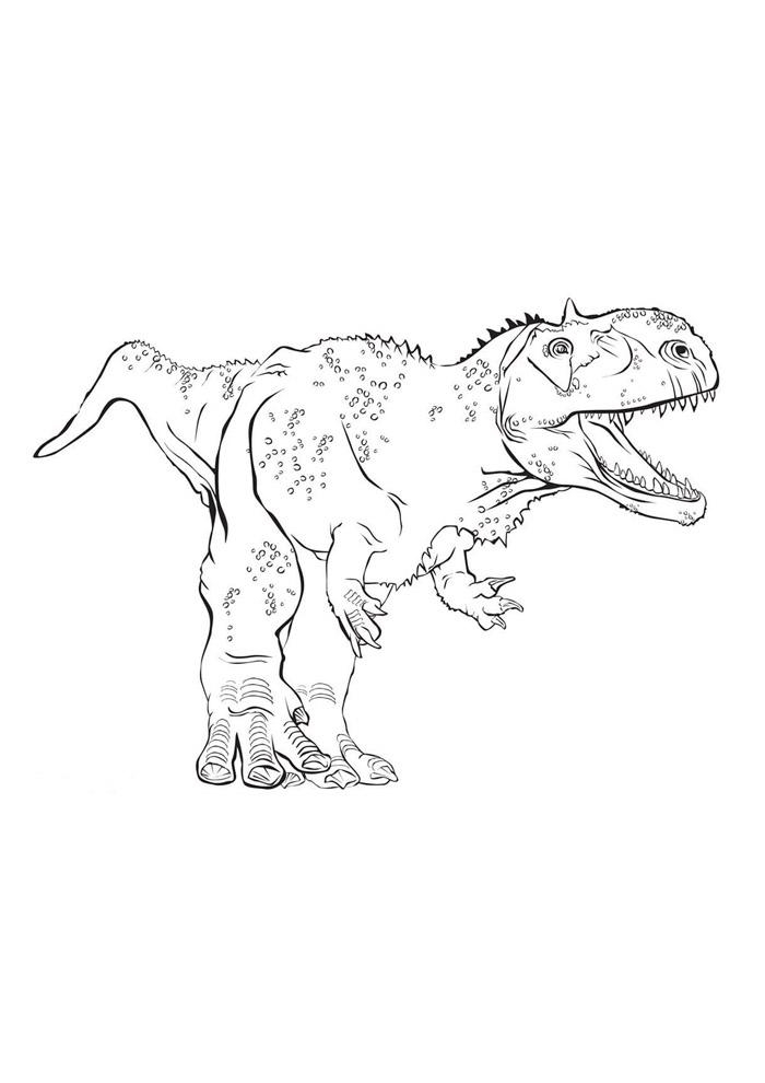dinossauro para colorir 64