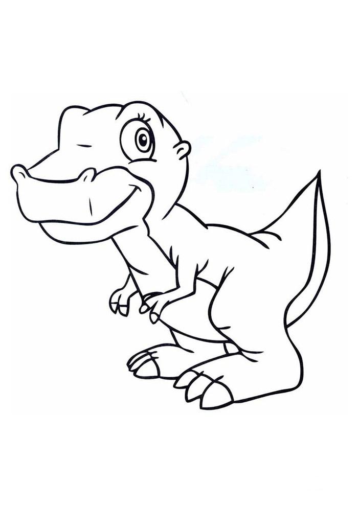 dinossauro para colorir 66