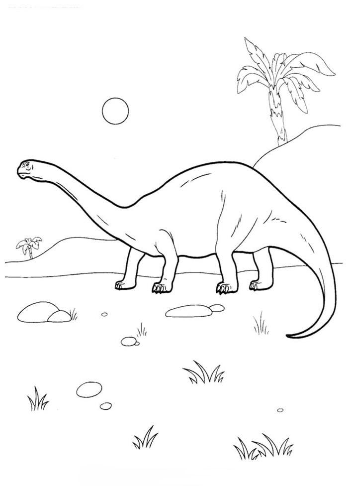 dinossauro para colorir 68