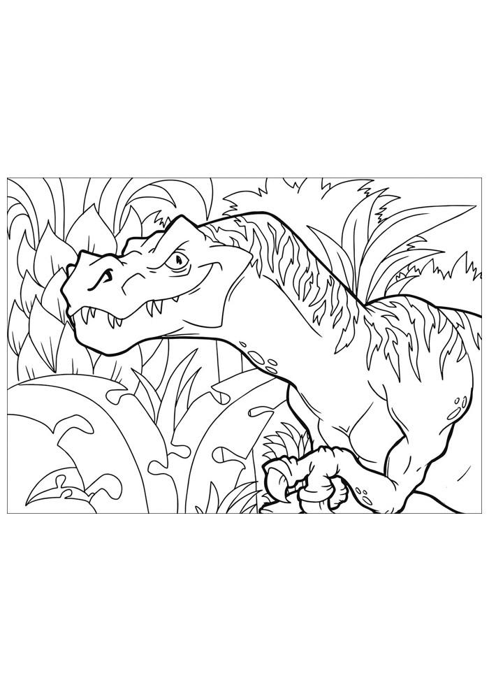 dinossauro para colorir 73
