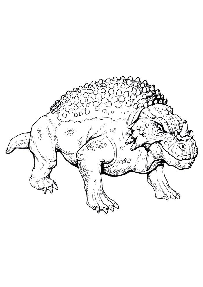 dinossauro para colorir 75