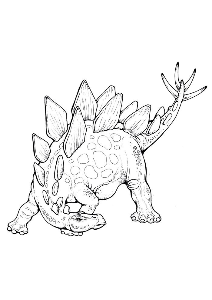 dinossauro para colorir 78