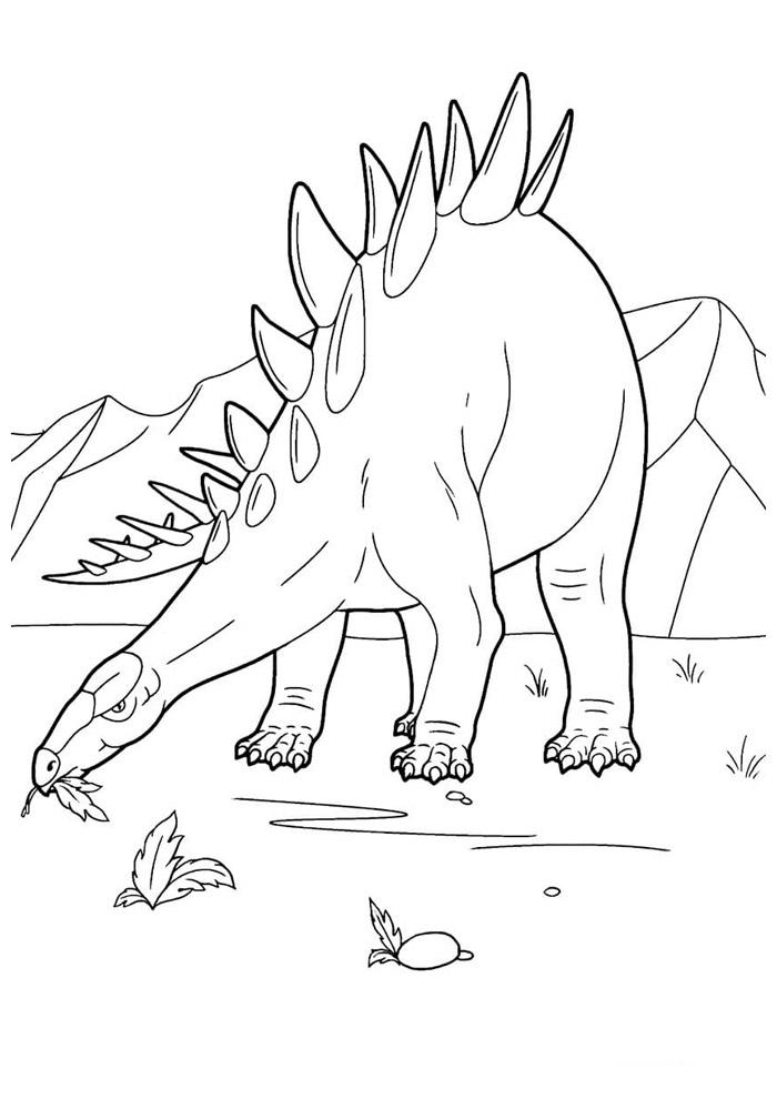 dinossauro para colorir 79