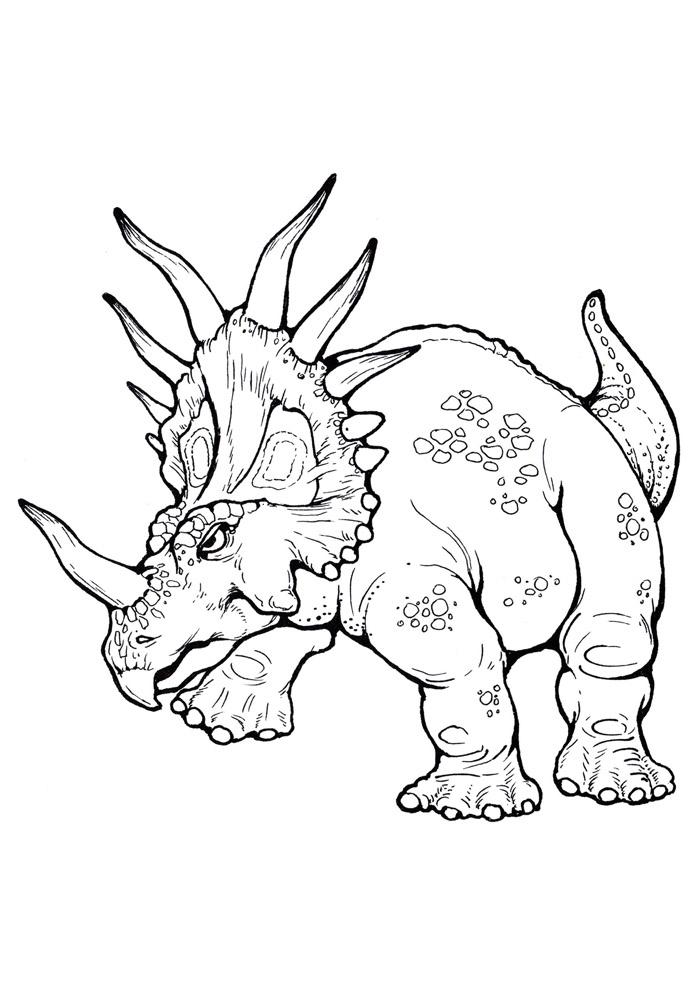 dinossauro para colorir 80