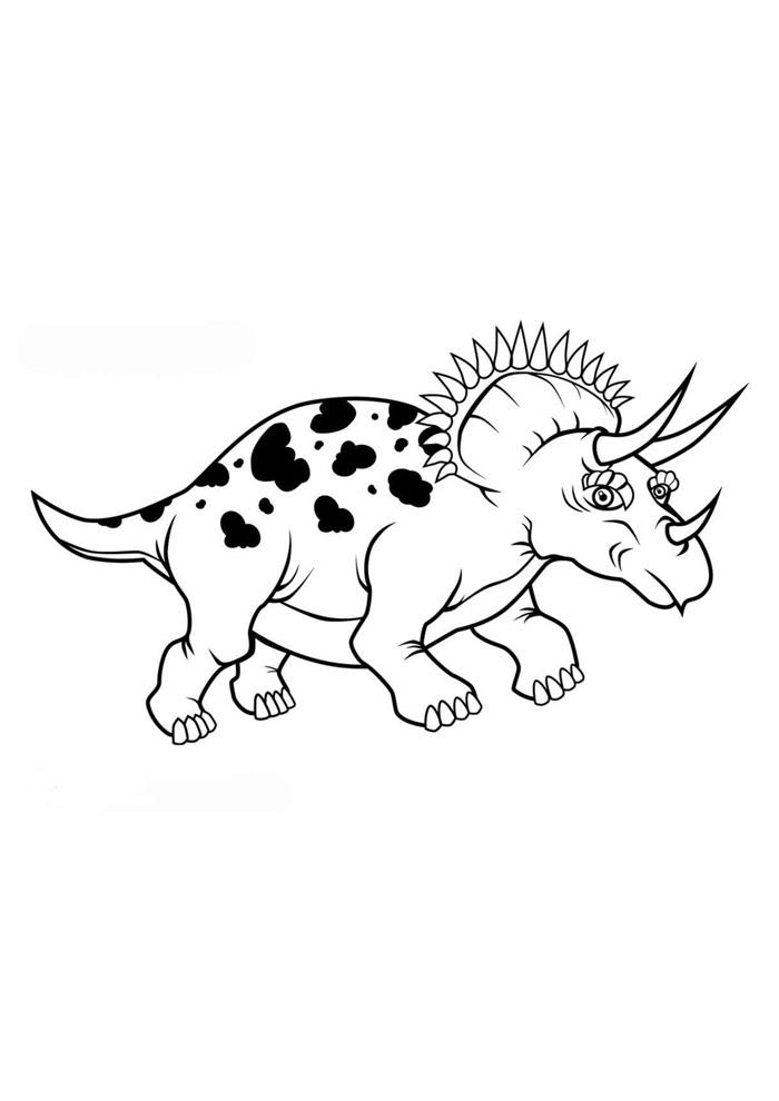 dinossauro para colorir 85