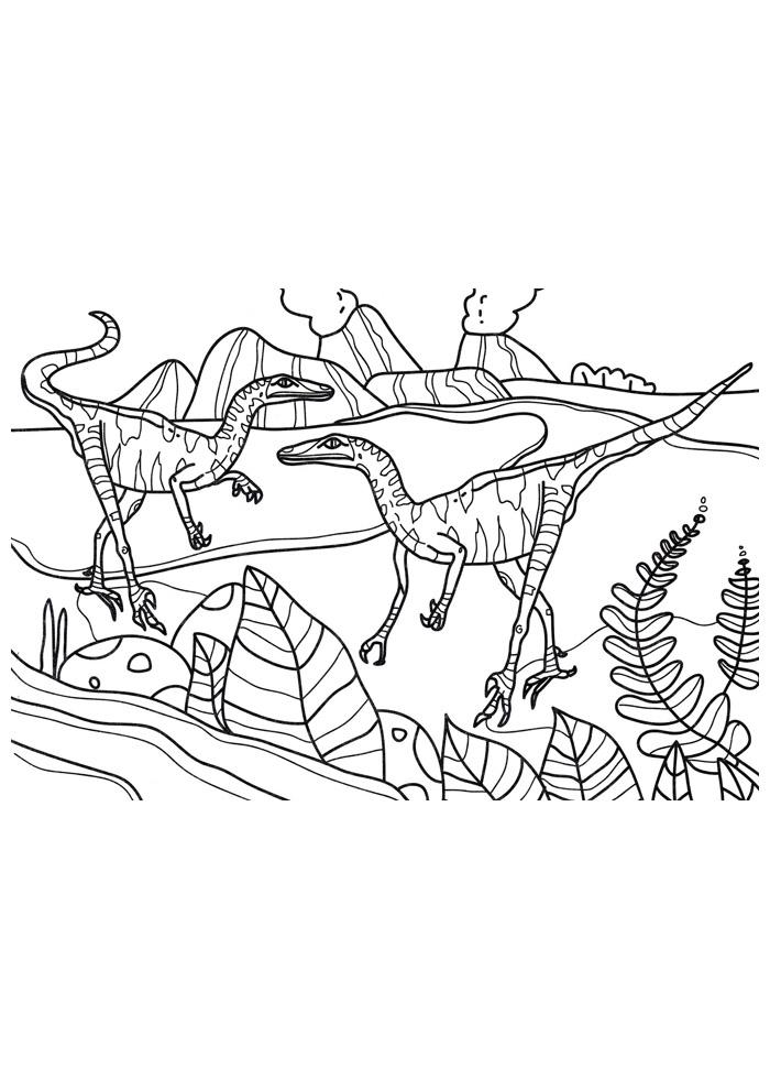 dinossauro para colorir 88