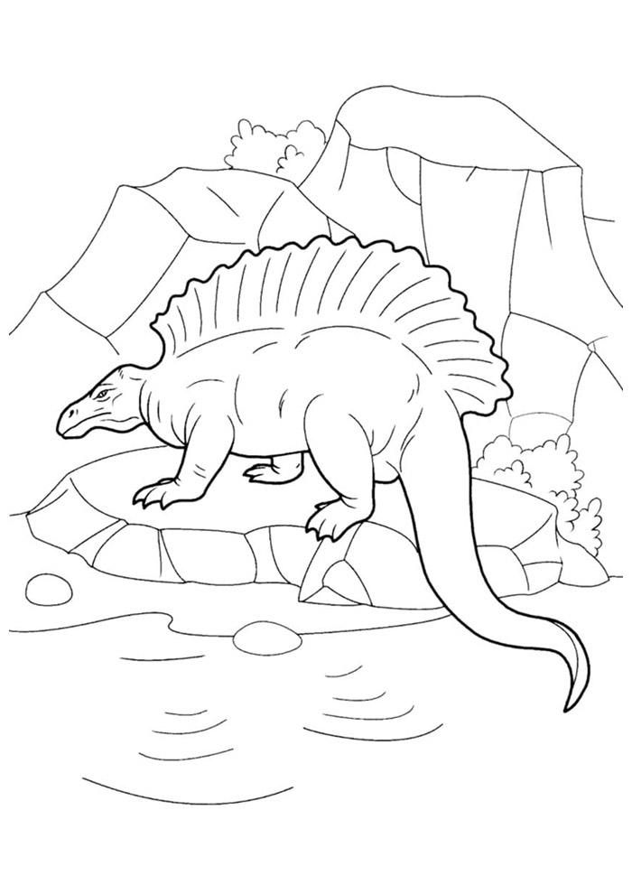 dinossauro para colorir 91