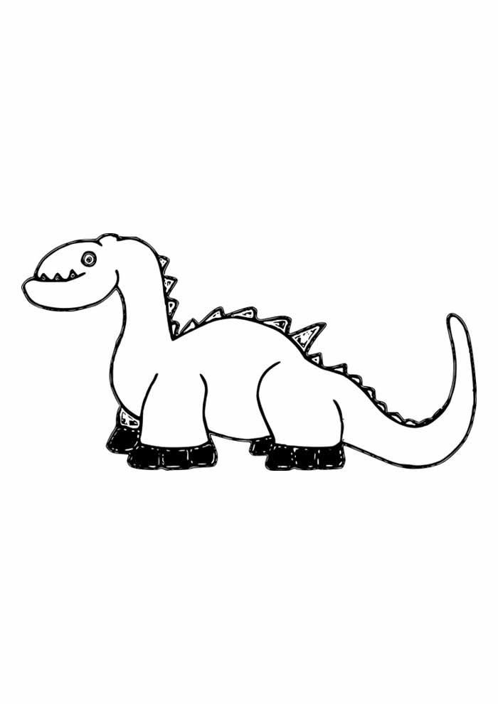 dinossauro para colorir t rex