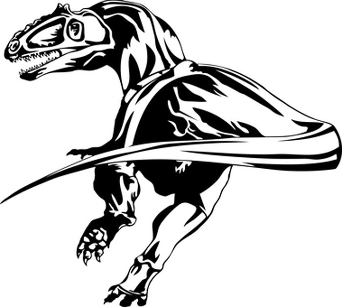 Dinossauro para imprimir