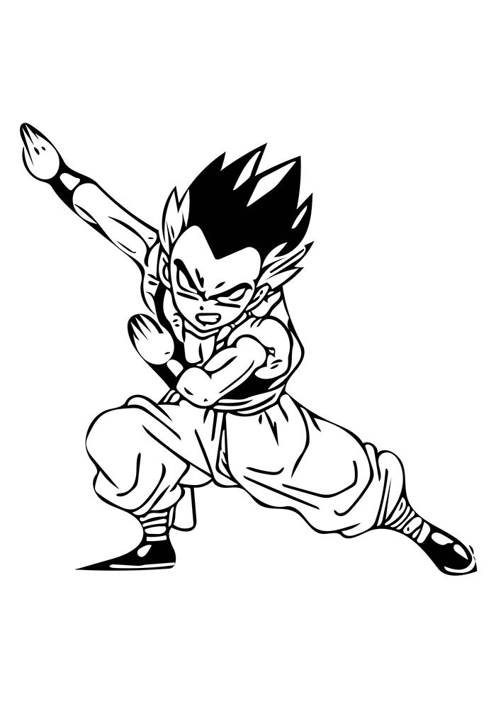 Desenhos Para Colorir Do Dragon Ball Z Imprimir E Colorir