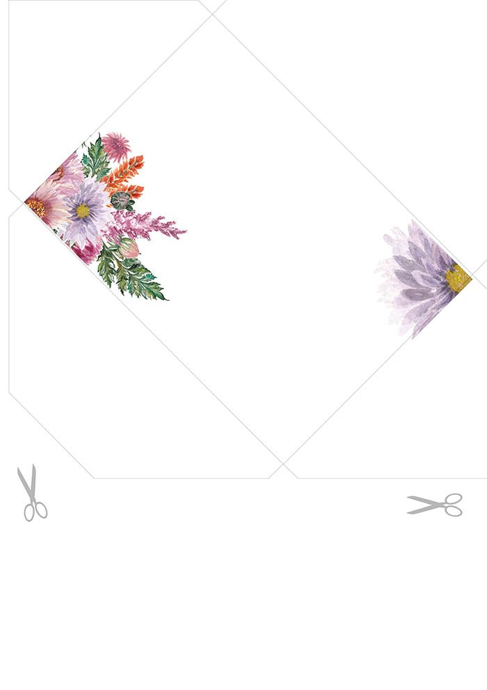 Envelope de carta para imprimir