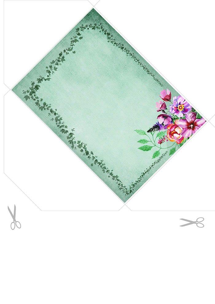 Envelope decorado