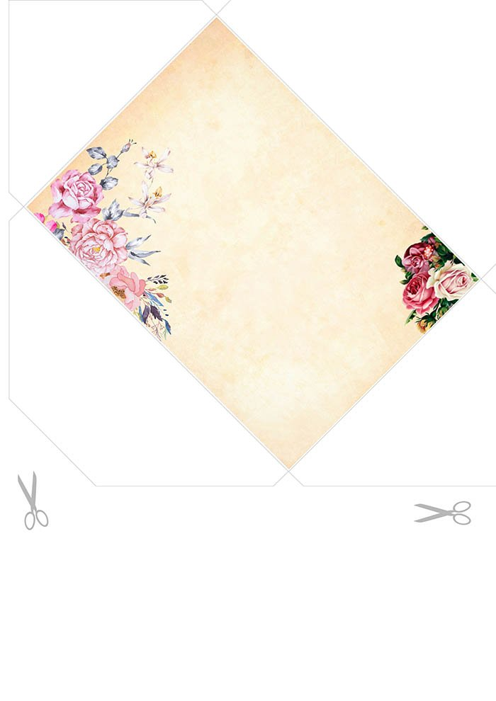 Envelope romântico