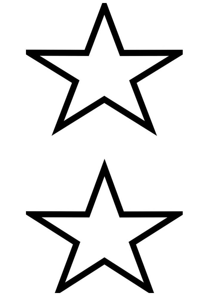 estrela para colorir 12