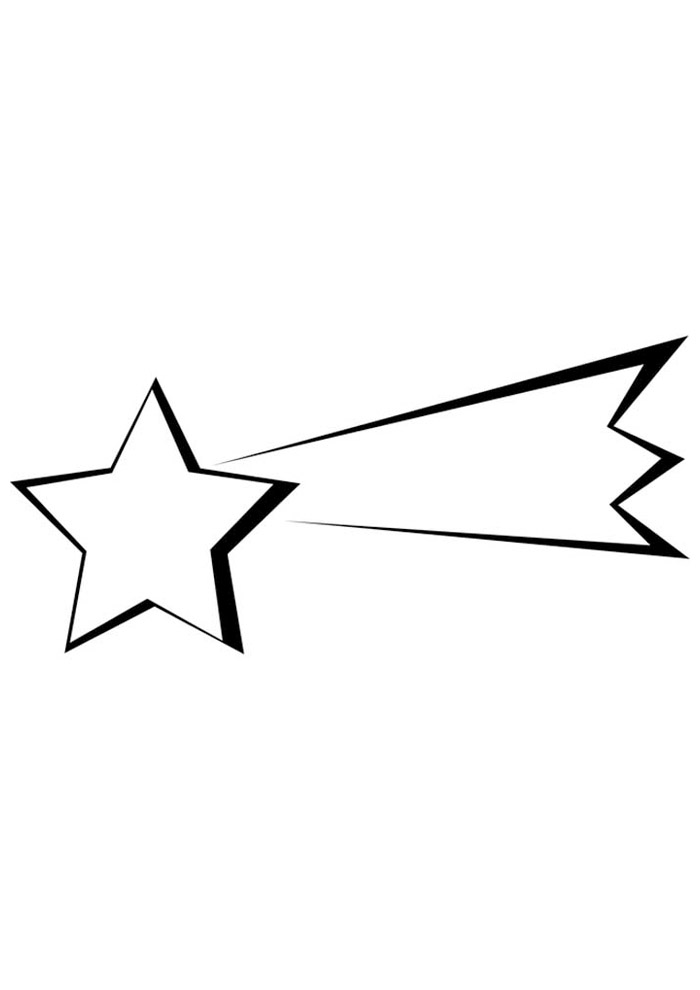 estrela para colorir 14
