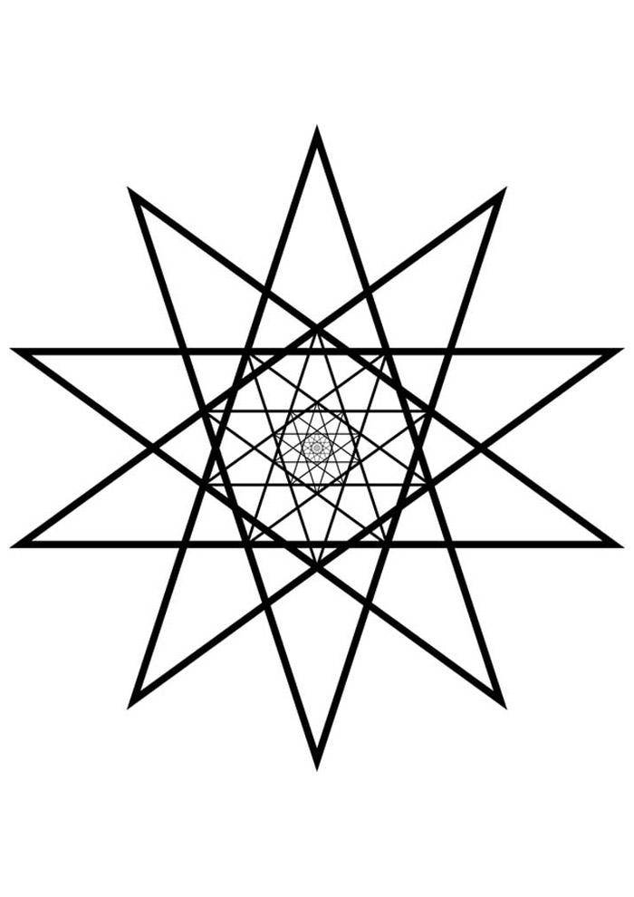 estrela para colorir 18