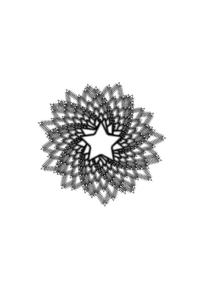 estrela para colorir 26