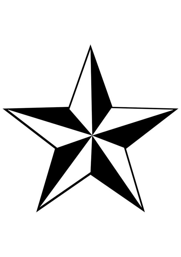 estrela para colorir 29