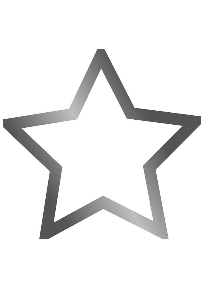 estrela para colorir 37