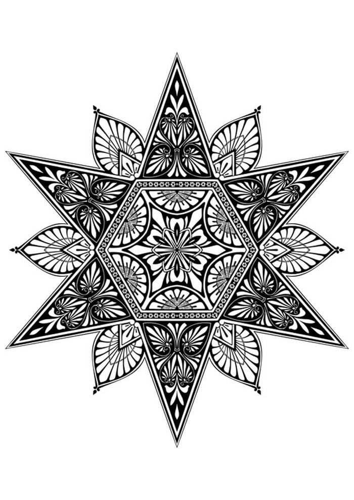 estrela para colorir 38