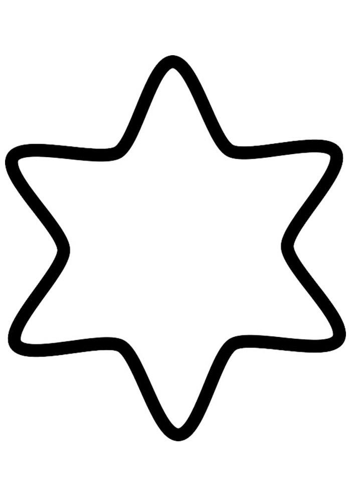 estrela para colorir 40
