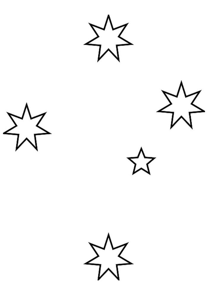 estrela para colorir 46