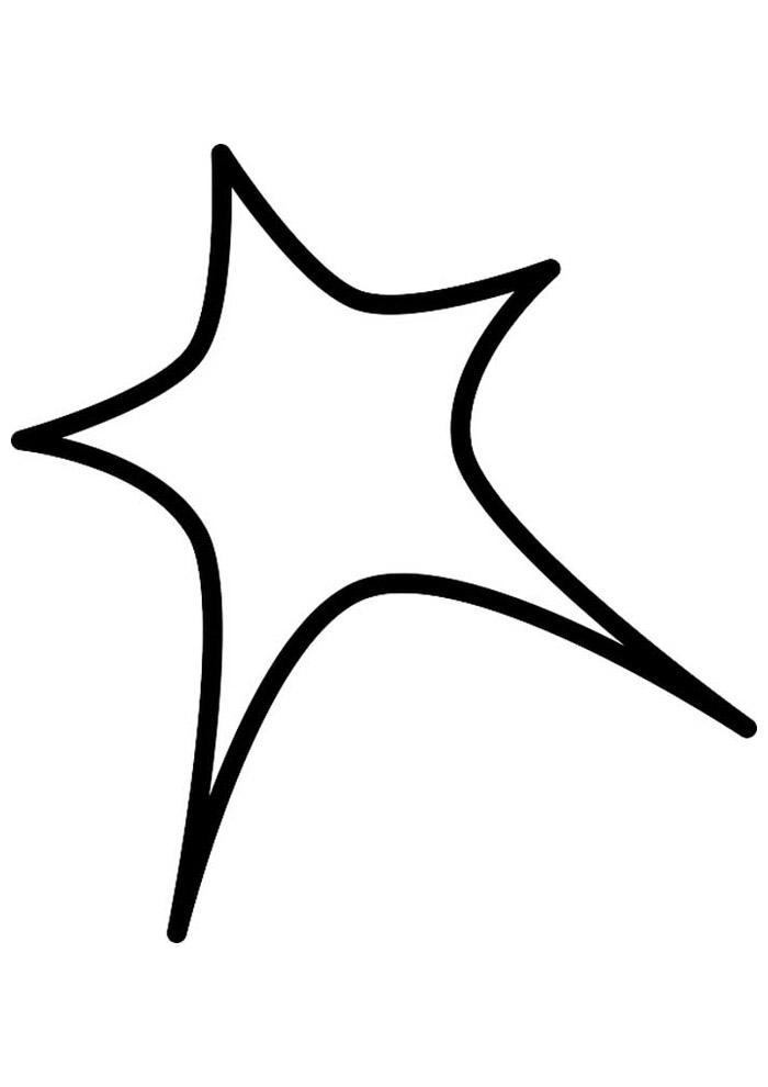 estrela para colorir 47