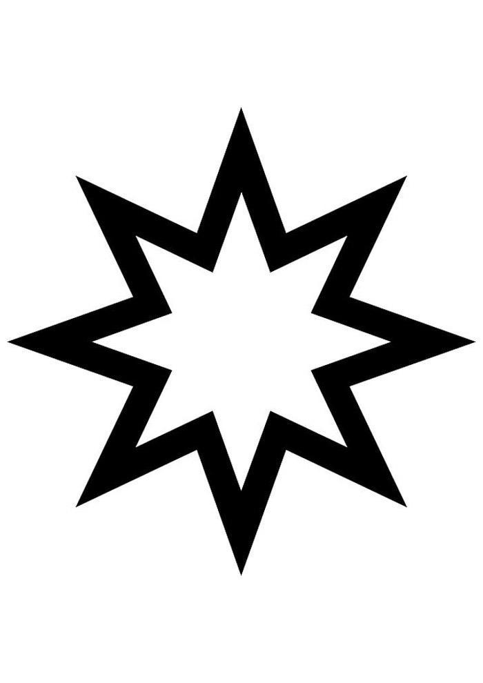 estrela para colorir 50
