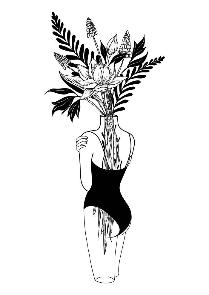 flores rosto tumblr