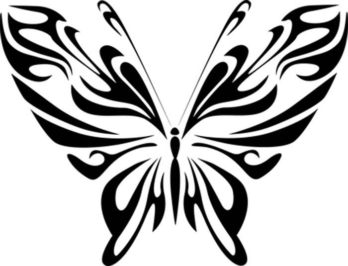 Imagem borboleta para colorir