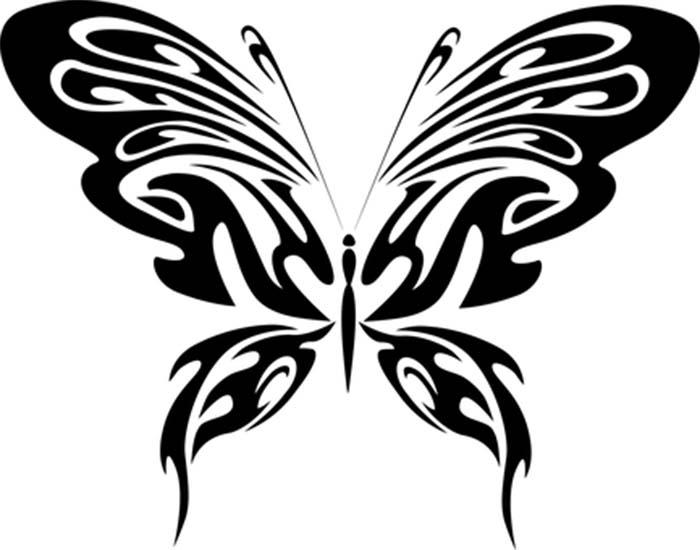 Imagem de borboleta para colorir