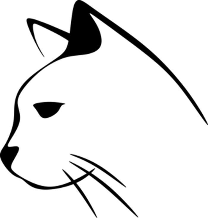 Imagem de gato para colorir