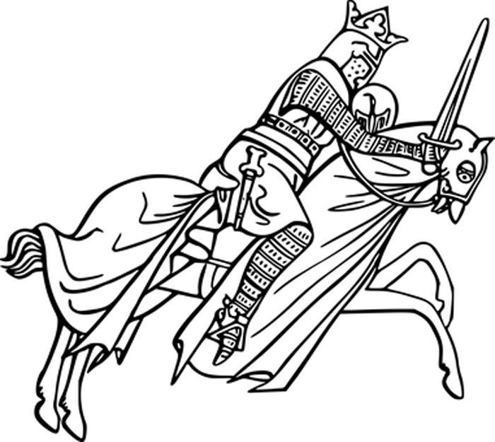 imagem de um cavalo para colorir