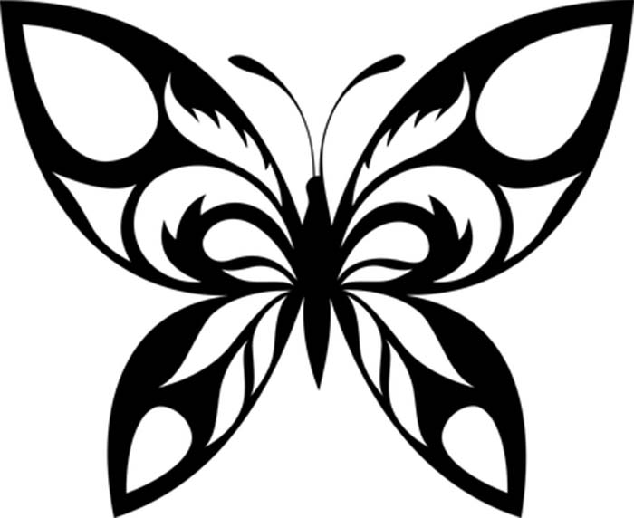 Imagem para colorir de borboleta
