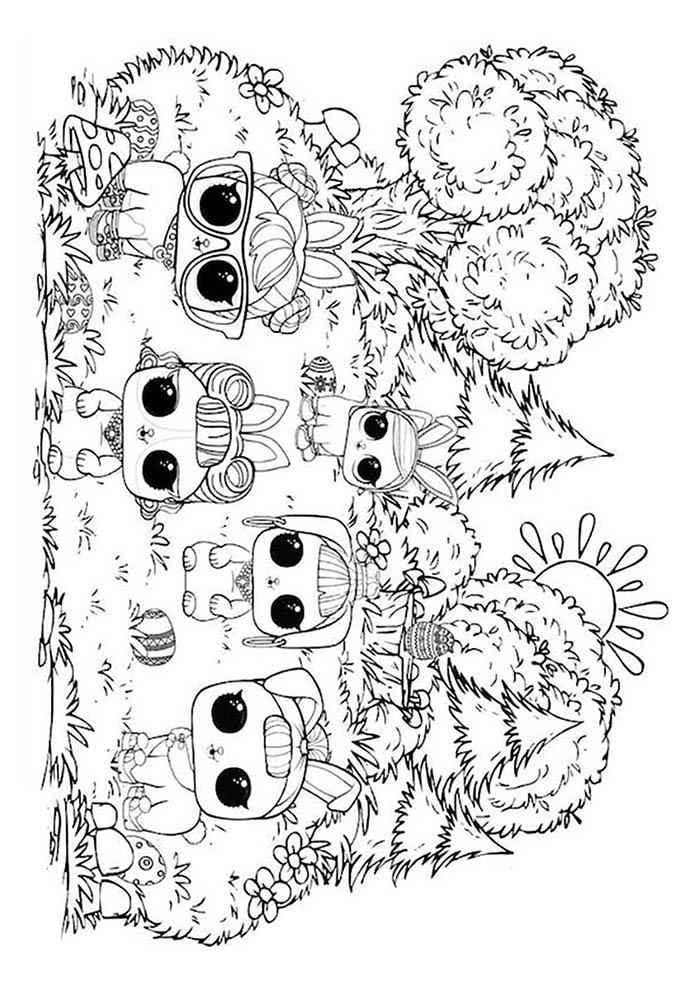 lol desenho para colorir