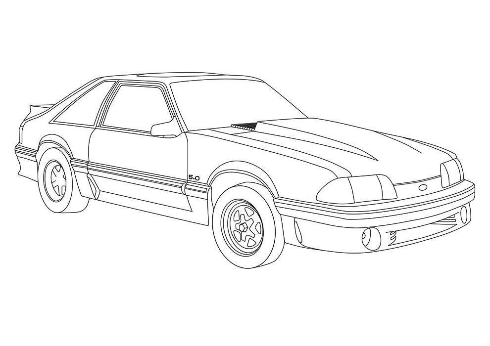 30 Desenhos De Carros Para Imprimir E Colorir