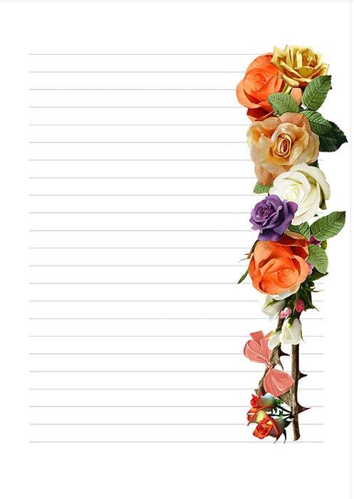 papel de carta para imprimir