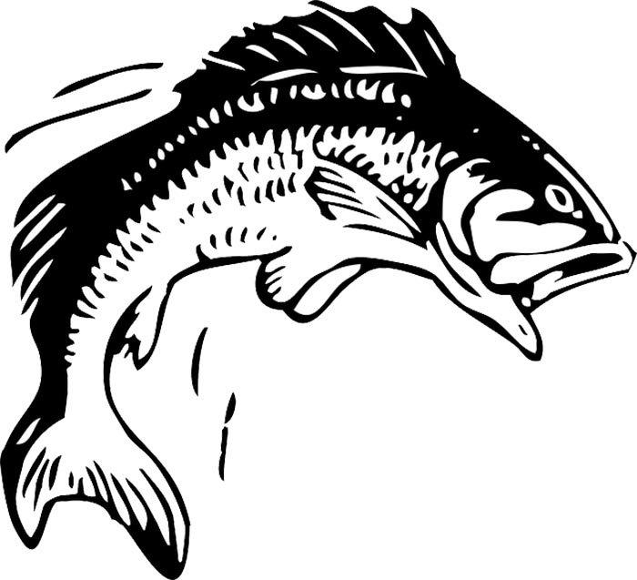 Peixe com boca aberta para colorir