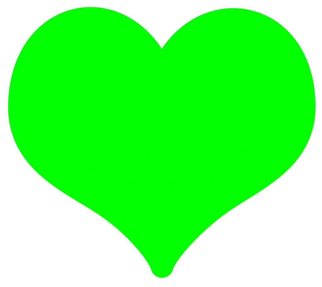 significado coracao verde emoji