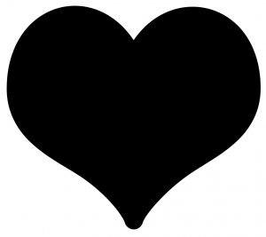 significado do emoji coracao preto