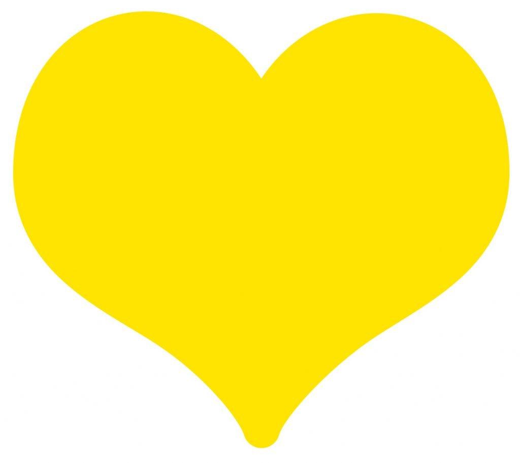 significado emoji coracao amarelo