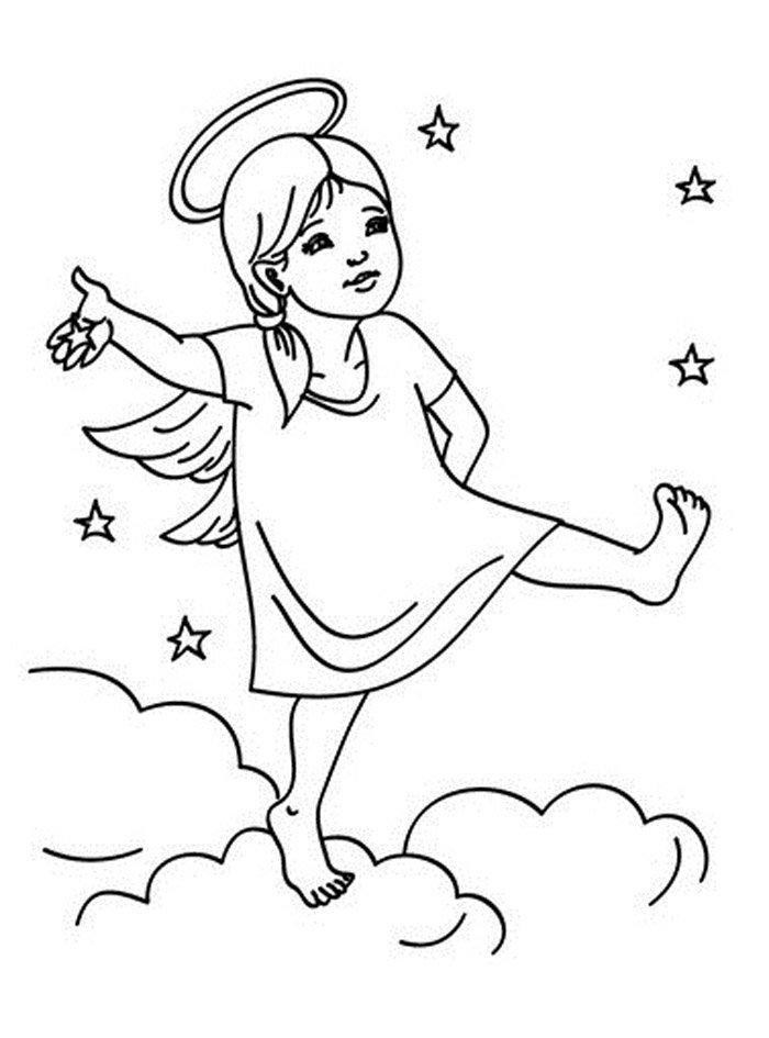 anjos e estrelas imagens