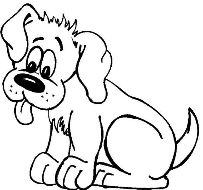 cachorro com a lingua de fora