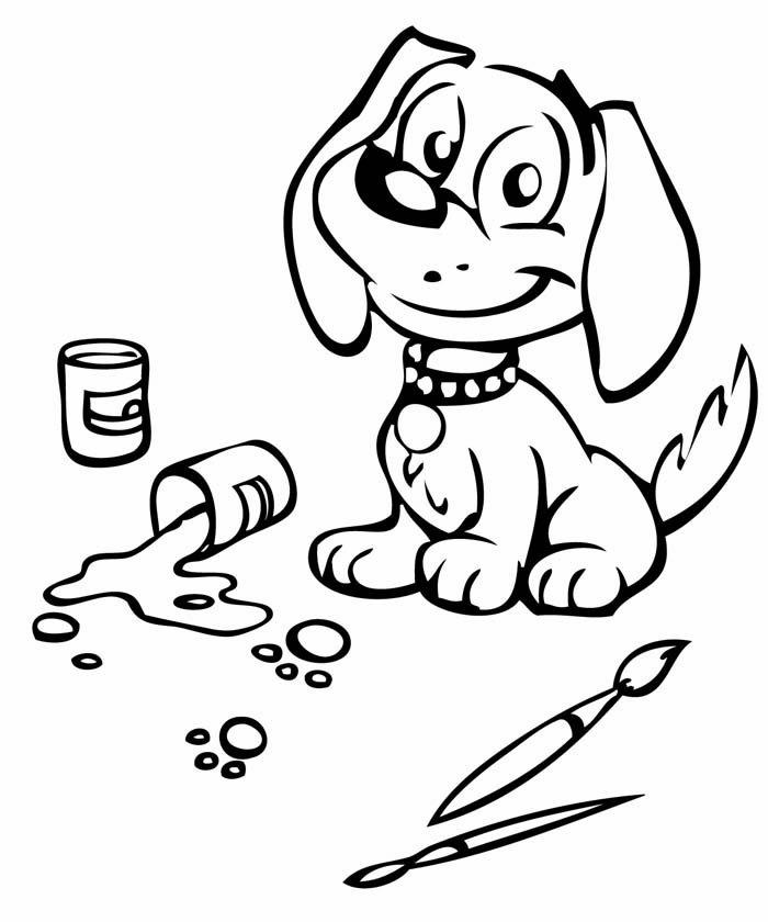 cachorro fazendo arte