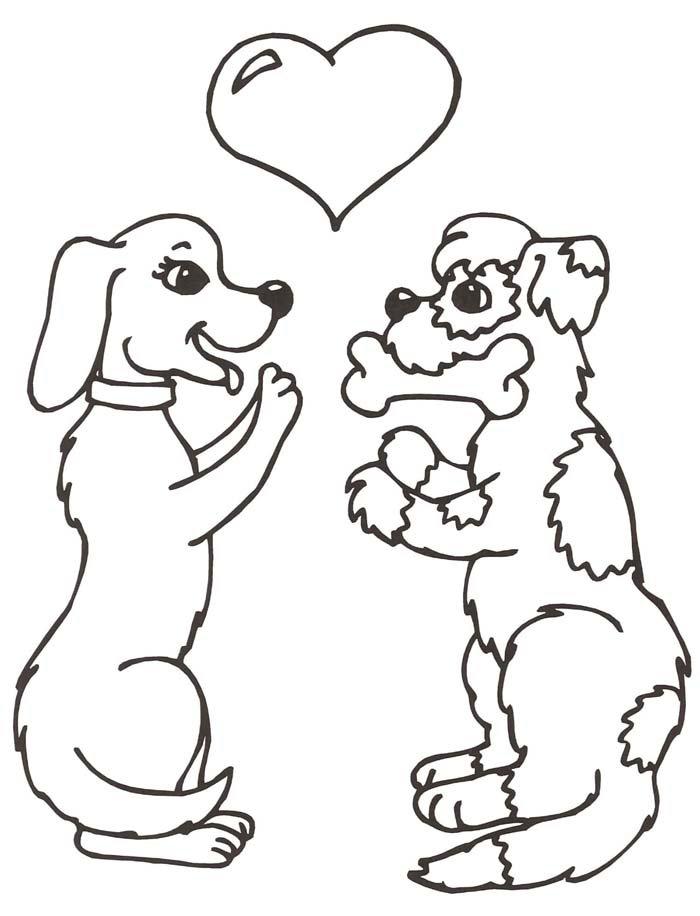 cachorros namorando